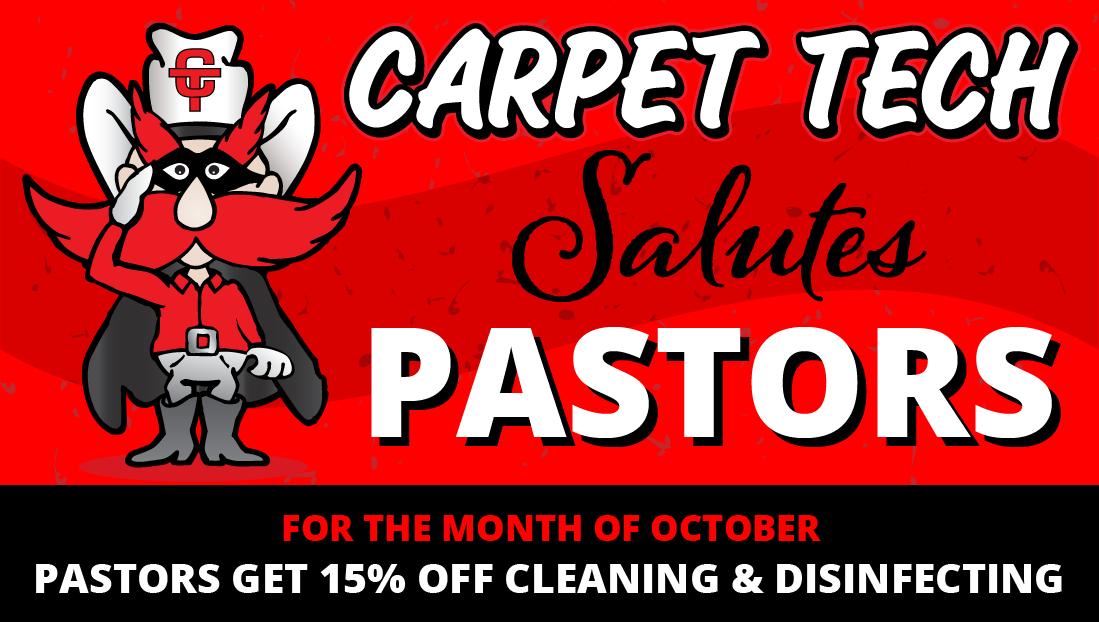 Carpet Tech Salutes Pastors